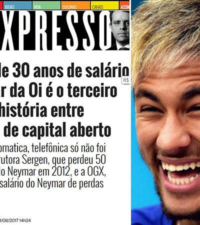 Paranaense cria extensão do Chrome que converte valores em uma nova unidade de medida: o salário do Neymar