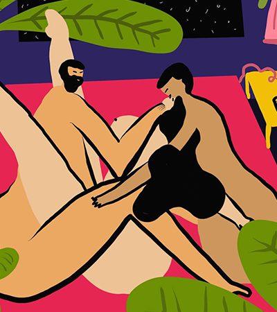 Artista ilustra a sexualidade feminina sem se submeter a regras ou padrões