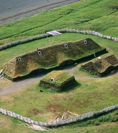 A primeira colônia européia nas Américas foi estabelecida por vikings 500 anos antes de Colombo