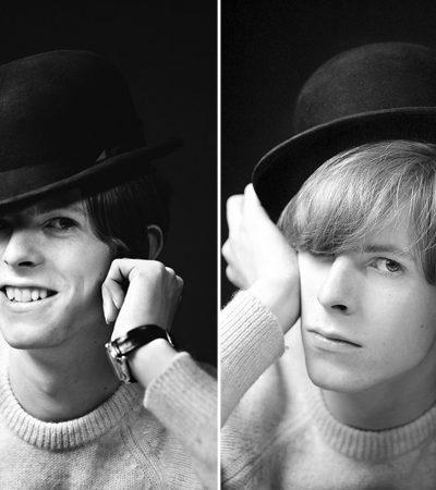 As incríveis fotografias que um jovem e desconhecido David Bowie realizou em 1967 para seu primeiro disco
