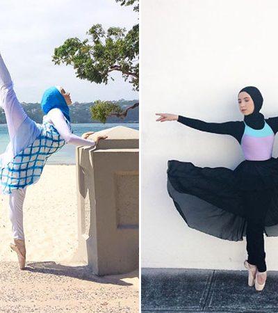 A primeira 'bailarina de hijab' tem apenas 15 anos e já está abrindo caminho pra diversidade na dança