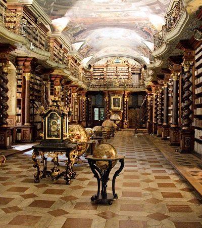 Clementinum: por dentro de uma das mais lindas bibliotecas do mundo