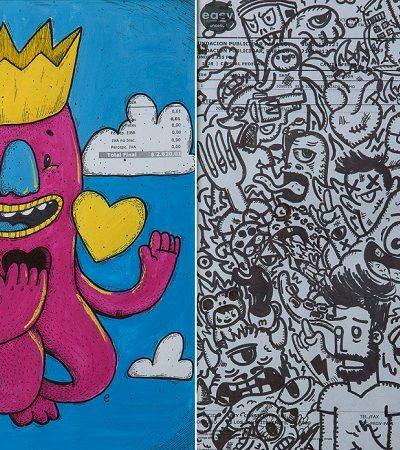 Pimp My Factura transforma dívidas de escolas comunitárias em obras de arte
