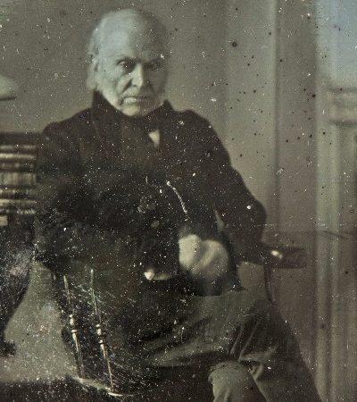 A foto mais antiga que se conhece de um presidente dos EUA pode ser leiloada por mais de 250 mil dólares