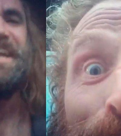 Vídeo de Tormund e o Cão (GOT) cantando alegremente nos bastidores viraliza