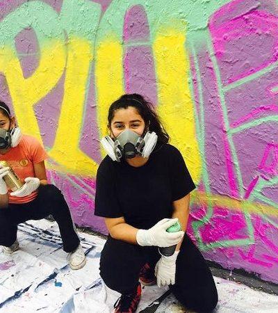 Street Art Camp faz sucesso ensinando graffiti e empoderamento para garotas