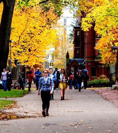 Harvard tem maioria de calouros 'não brancos' pela primeira vez em 380 anos