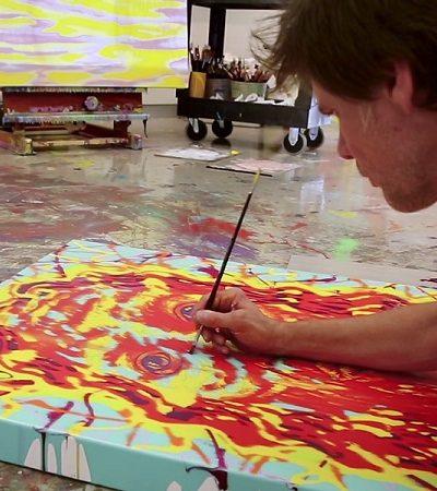 A inspiradora transformação na vida de Jim Carrey, das telas de cinema para as de pintura