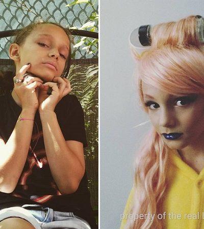 O garoto de 8 anos que ama se transformar em drag queen está divando na internet