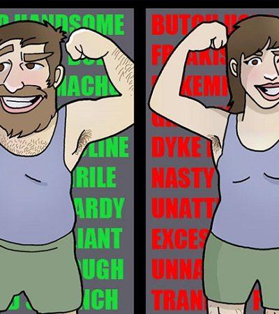 Essas ilustrações escancaram o duplo padrão e a hipocrisia dos 'valores da sociedade'