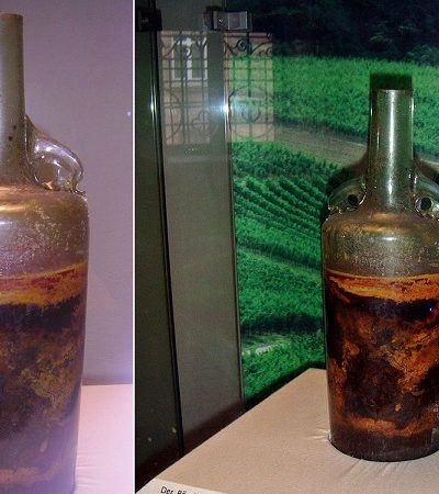 Essa é a garrafa de vinho mais antiga do mundo que se mantém fechada desde o século 4