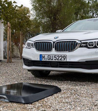 Adeus, gasolina: BMW testa recarregamento de carro elétrico via wireless