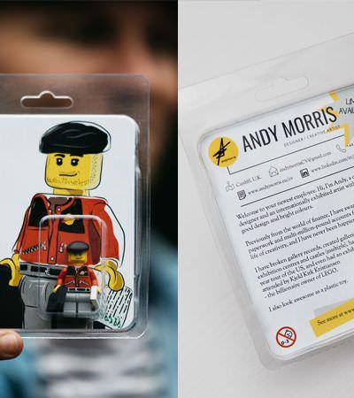Designer cria currículo em versão Lego e ganha a internet