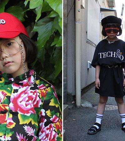 A menina japonesa de 6 anos que virou ícone fashion e conquistou milhares de seguidores no Instagram