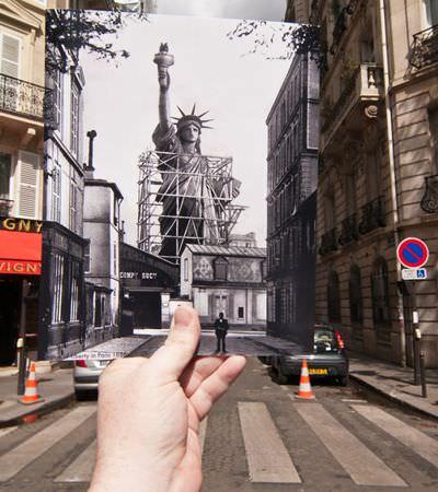 O passado e o presente das cidades se encontram neste projeto fotográfico