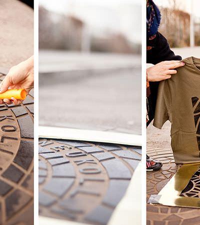 Projeto de moda criativa permite que você 'vista a camisa' da sua cidade do coração