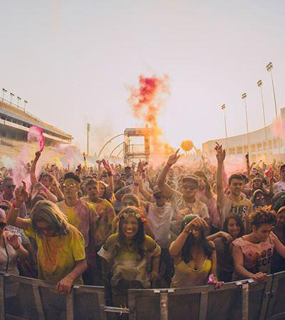 Festival Holi dá as boas-vindas à Primavera com muita cor e alegria em SP