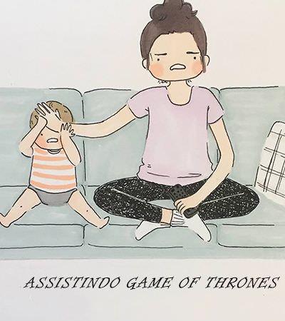 Mãe ilustradora cria desenhos fofos para documentar o dia a dia com seu bebê