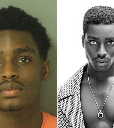 Esse garoto de 20 anos é mais um a conseguir uma carreira de modelo através da 'mugshot' que tirou quando foi preso