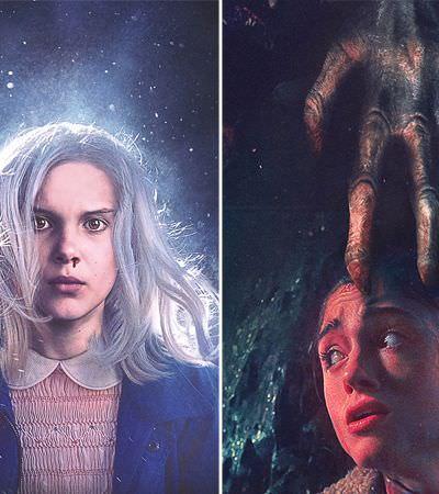 Stranger Things recria cartazes icônicos de filmes de terror do anos 1970 e 1980
