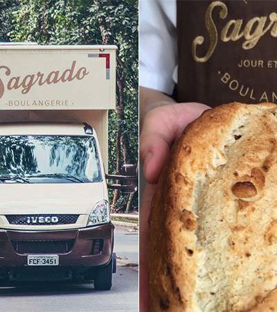 O food truck padaria que leva o pão nosso de cada dia diretamente até a casa dos clientes