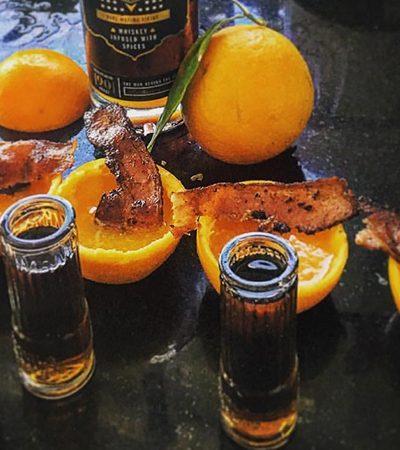 Dupla cria vodka sustentável feita de comida que seria jogada no lixo