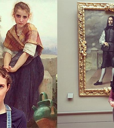 20 pessoas que encontraram seus gêmeos em quadros célebres em museus