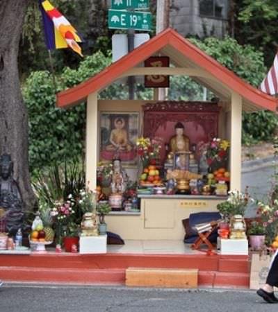 Como uma estátua do Buda ajudou a acabar com a criminalidade de um bairro