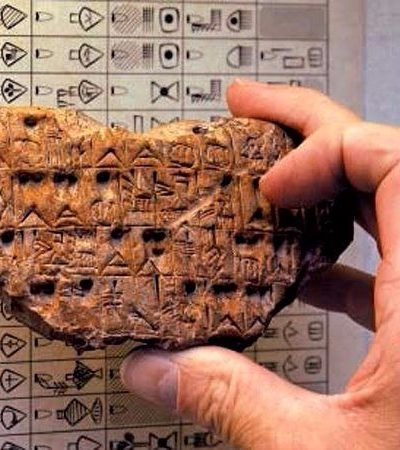 A linguagem escrita mais antiga do mundo tem seu próprio dicionário e está agora disponível gratuitamente na internet