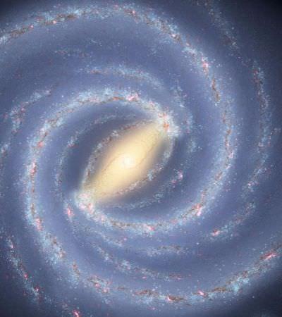 Buraco negro gigante é descoberto perto do coração da Via Láctea