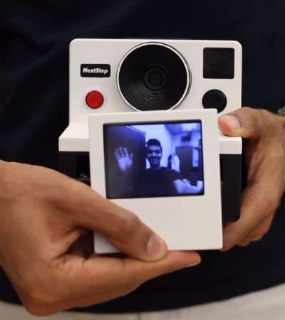Designer cria câmera Polaroid que imprime GIFs em vez de fotos