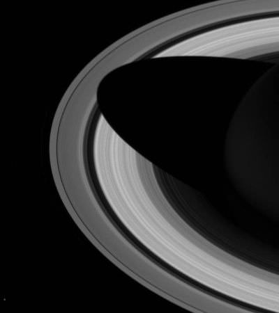 O adeus da nave espacial responsável pelas melhores fotos de Saturno de todos os tempos
