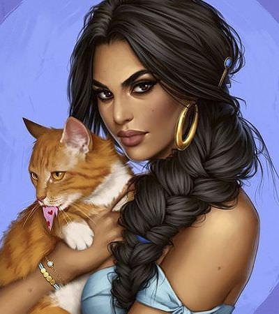 O feminismo de cada dia: Artista chilena recria princesas Disney em versões poderosas