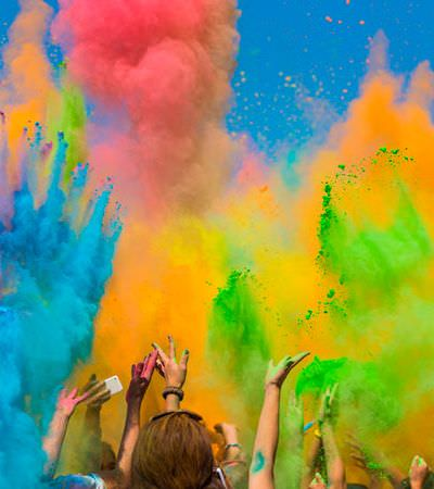 Holi Festival acontece neste fim de semana em SP com entrada gratuita