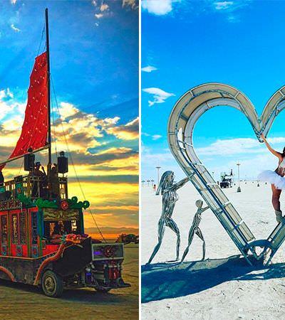 Arte no deserto: 13 instalações mais que maravilhosas do Burning Man 2017