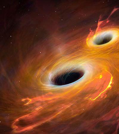 Pela primeira vez astrônomos medem deformação 3D gerada por buraco negro