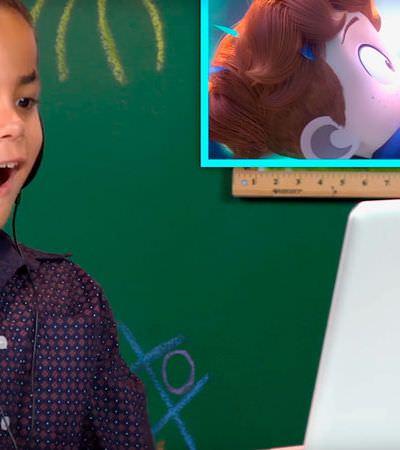 A maravilhosa reação de crianças ao ver uma animação em que dois garotos se apaixonam