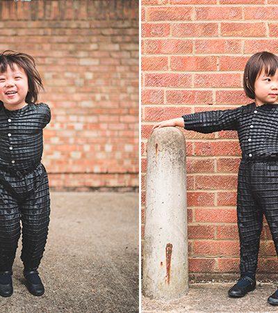 Designer cria linha de roupas que crescem junto com as crianças