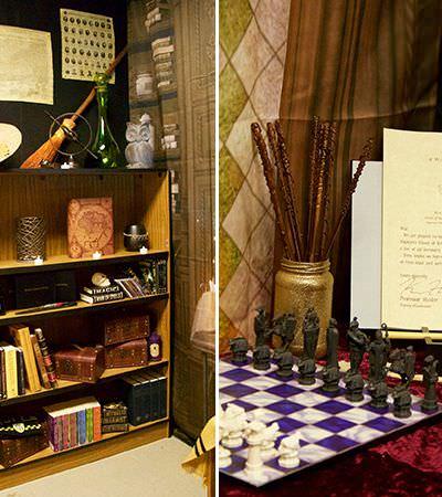 A sala de aula de Harry Potter mais detalhada que você já viu