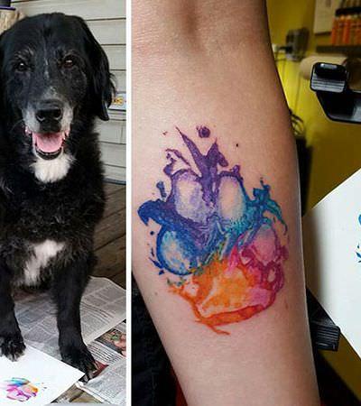Pensando em uma nova tattoo? 32 patas de cachorros que viraram lindas e criativas tatuagens