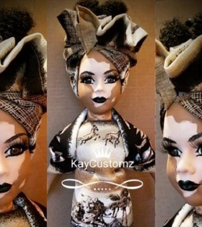 Maravilhosa boneca com vitiligo promove a inclusão e representatividade