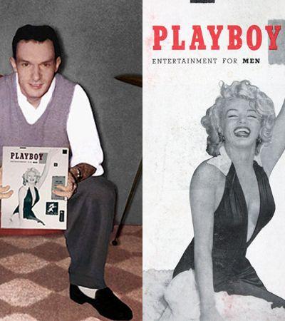 Hugh Hefner usou as fotos de Marilyn Monroe, 1ª coelhinha da Playboy, sem consentimento