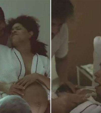 Juliana Alves faz post empoderador sobre emoção do parto humanizado: 'Valeu cada minuto!'