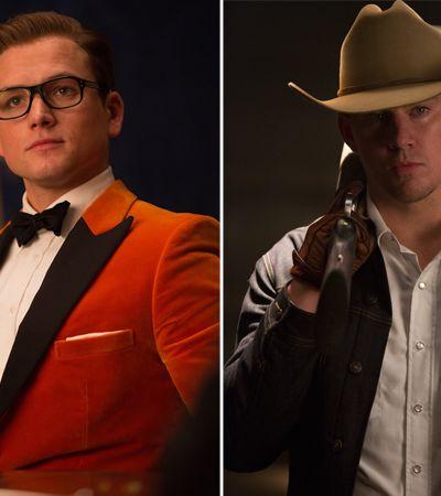 Estrelas, estilo, explosões… Novo 'Kingsman' une cinemas inglês e americano
