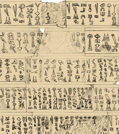 Um dos maiores enigmas arqueológicos da história foi resolvido com a tradução destes hieróglifos