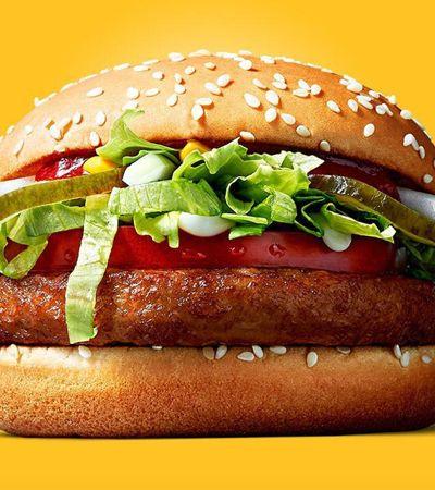 McDonald's cria McVegan, primeiro lanche da rede sem nada de origem animal