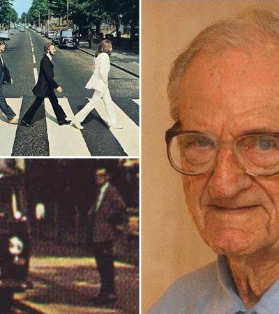 Conheça o aposentado que acabou sem querer na capa do disco Abbey Road, dos Beatles