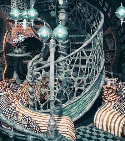 Decorações inspiradas em Wes Anderson, Hayao Miyazaki e outros diretores são um arraso