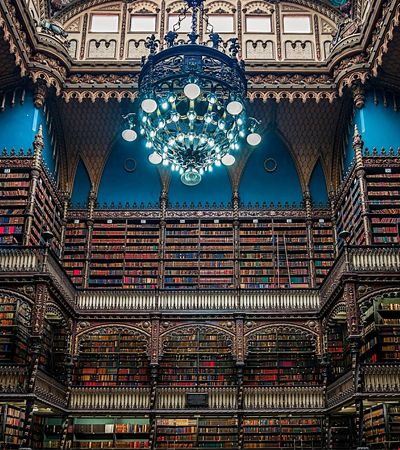Real Gabinete Português de Leitura (RJ): a quarta biblioteca mais bonita do mundo