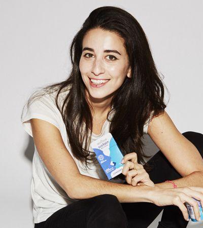 Ela criou camisinhas, tampões e lubrificantes naturais que não agridem a saúde